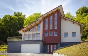 Maison ossature bois, exterieur
